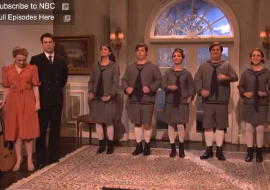 'SNL' Spoofs 'Sound of Music Live', Kristen Wiig Special Guest