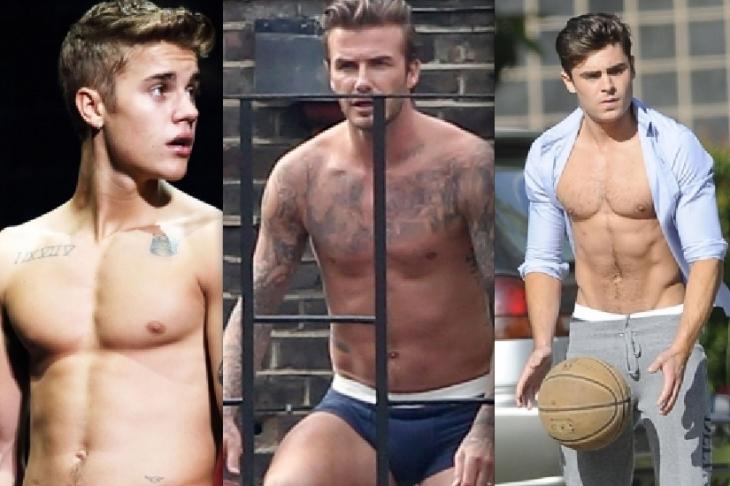 The Nine Best Shirtless Celebs of 2013! Enjoy