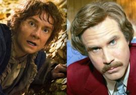 The Hobbit Beats Anchorman 2!