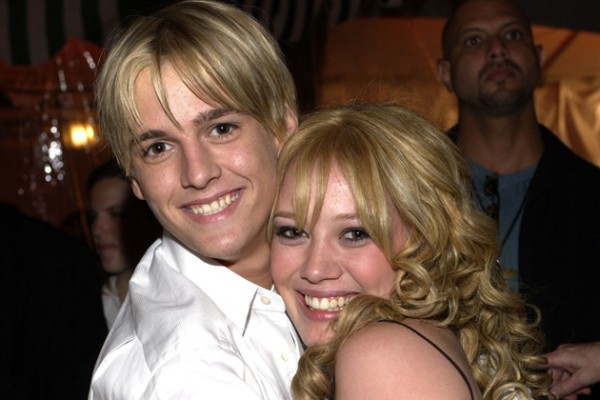 Aaron Carter informed Hilary Duff will not get back with him – see his response…