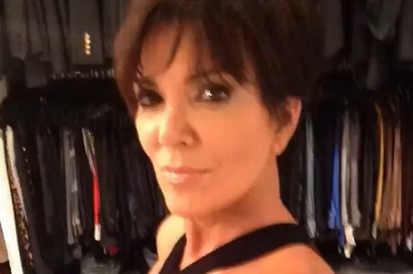Kris Jenner, 58, posts half-naked photo of herself – someone needs attention