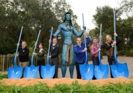James Cameron King of the (Disney) World – (Avatar Park Breaks Ground – First Pics!)