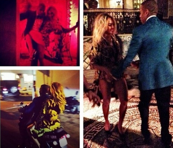Beyonce and Jay Z Celebrate New Year's Eve in Miami  (new video insider VIP party)