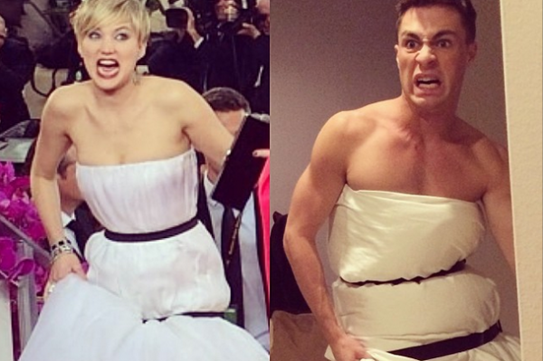 Colton Haynes Wins The Golden Globe For…