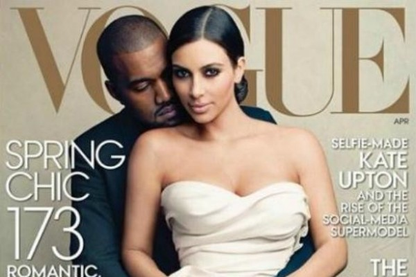 Kim and Kanye VOGUE cover is a hit! Selling great